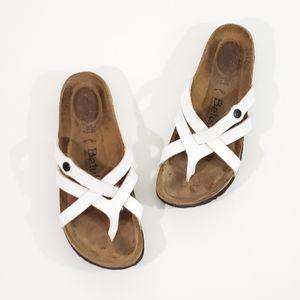 Birkenstock Betula Vinja White Gloss Sandals